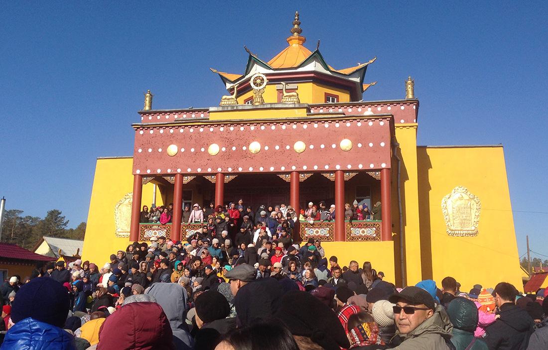 Temple Buryat Buddhism